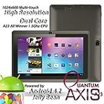"Axis A23 7"" Dual Core, Dual Camera, 1..."
