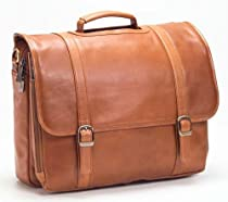 Clava Executive Notebook Briefcase - Leather - Tuscan Cafe - Tuscan Cafe