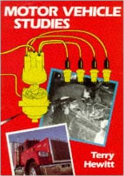Motor Vehicle Studies For Gcse Terry Hewitt