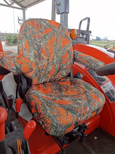 Buy Durafit Seat Covers, KU02 MC2 Orange KUBOTA MODELS M5040