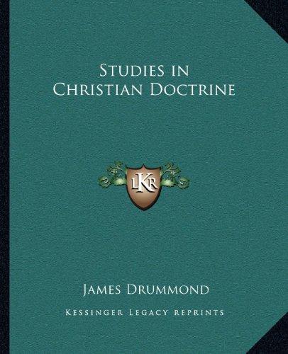 Studies in Christian Doctrine