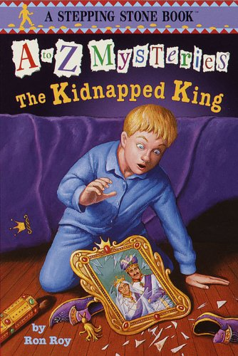 "<strong>4th Grade Student, Alaya, Reviews <em>A to Z Mysteries: The Kidnapped King (A to Z Mystery)</em> by Ron Roy & She Has Mixed Feelings About This YA eBook: ""I think the book was sad and happy."" Read on to Find Out Why!</strong>"