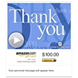 Amazon Gift Card - E-mail - Sincere Thank You (Animated) [American Greetings]