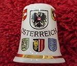 """Fingerhut Motiv """"�sterreich"""" Bone Chi..."""