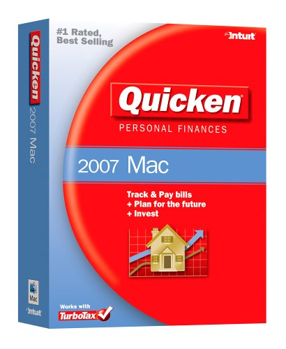 Intuit Quicken Personal Finances 2007 For Mac [Old Version]
