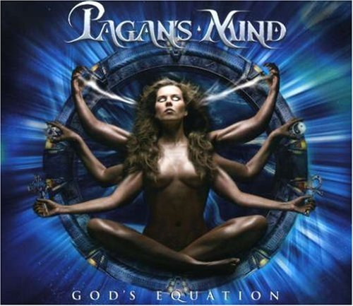 God's Equation by Pagan's Mind album cover