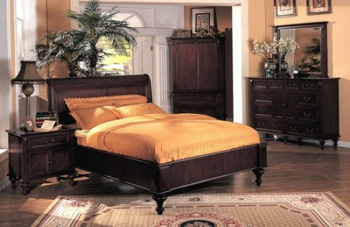 5PC Mandalay California King Size Bed Complete Bedroom Set