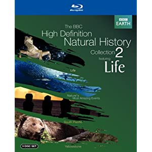 The BBC High-Definition Natural History Collection 2 (Life /South Pacific / Yellowstone) [Blu-ray]