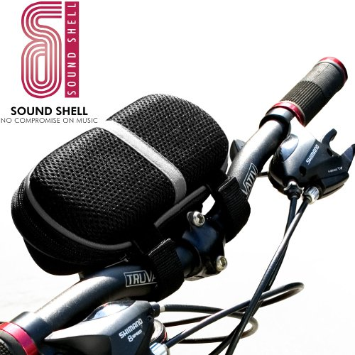 SoundShell Bike/Bicycle Speaker Case, Portable Travel Speakers, for iphone (3G, 3Gs, 4G) / ipod (all versions)/ mp3 players