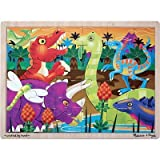 Melissa &amp; Doug Prehistoric Sunset Dinosaurs Jigsaw 24 pcs Puzzle