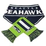 NFL Authentic Seattle Seahawks Team Knit Scarf at Amazon.com