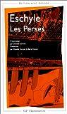 echange, troc Eschyle - Les Perses