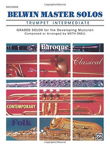 Belwin Master Solos (Trumpet), Vol 1: Intermediate (Belwin Master Solos Trumpet compare prices)