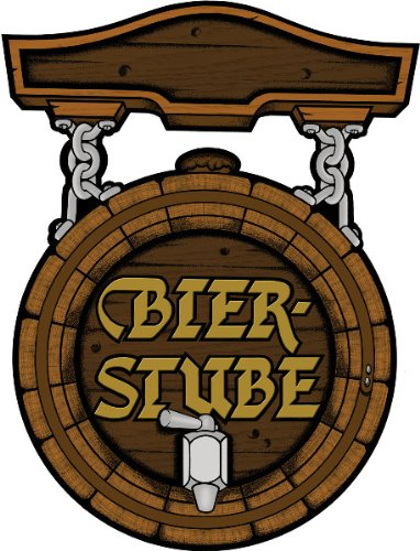Bier Stube Cutout [204 Pieces] *** Product Description: Bier Stube Or A Beer Keg Represents The Fresh Brewed Bavarian Beer For Oktoberfest And Is Featured On This Cutout Which Is Printed On Both Sides. Size: 18 Inch All Sales Final, No Returns Ma *** front-529026