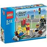 LEGO City 8401 - Personaggi e cartelli stradali