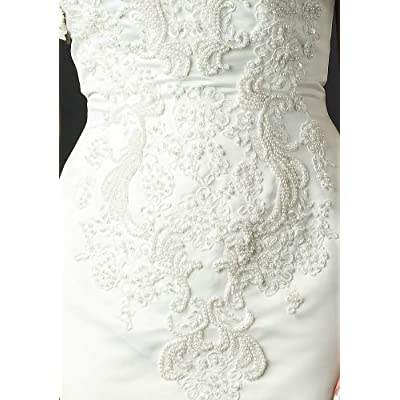 Wedding Dress Gown - Bridal Gown, Informal Bridal Gown, Ball gown by Sean Collection (B8018) White