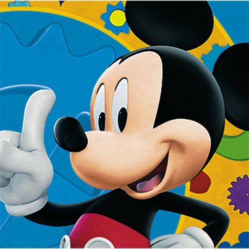 Mickey's Clubhouse Beverage Napkins, 16ct