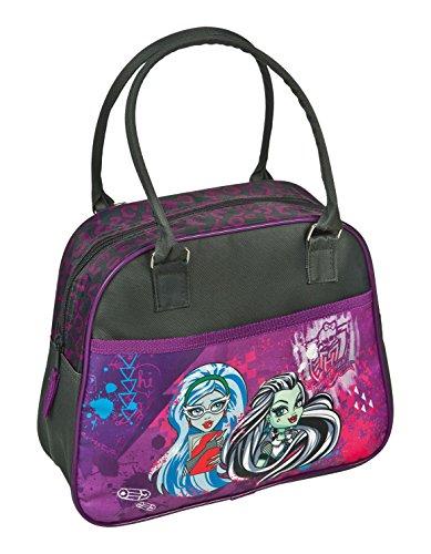 Bambini mano under cover custodia Monster High, circa 33 x 23 x 10 cm borsa sportiva, 7,5 litri, colore lilla