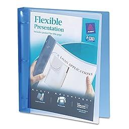 Avery - Flexible Presentation Binder, View Pocket, 1\