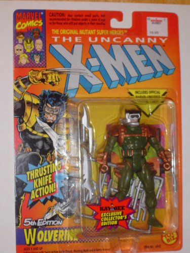 X-Men Wolverine #5 (Green) Action Figure - 1