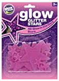 The Original Glowstars Company Cosmic Glow Glitter Stars Pink