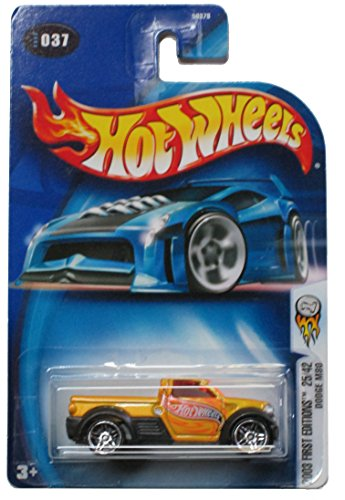 Hot Wheels 2003 First Editions Dodge M80 #037 25/42 Pr-5 Wheels