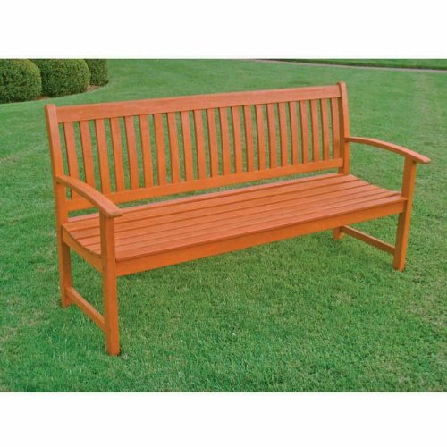 Royal Tahiti Outdoor Furniture: 3-Seater Bench