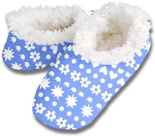 Cheap Snoozies MOTIF STRIPE No Skid Slipper Sock Footwear (100-312B)