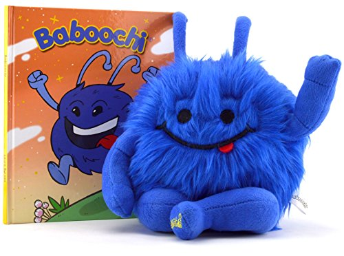 Baboochi-Plush-Kids-Toy-Stuffed-Animal-For-Girls-Boys-Children-Illustrated-Hard-Cover-Story-Book-of-Baboochi-Included-Interactive-Educational-Learning-for-Your-Child-For-Playing-Inside-or-Out