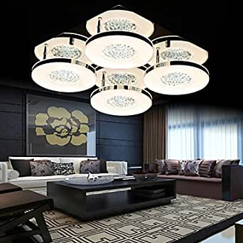 A Lighting Ceiling Lights Crystal LED Modern Living Room Bedroom Dining