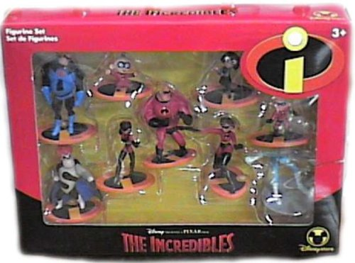 The Incredibles Toys : The incredibles action figures my