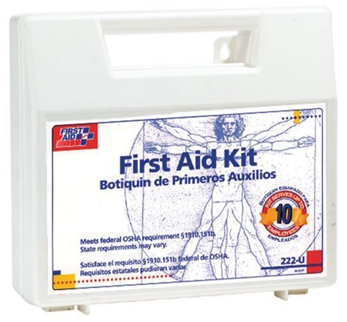 First Aid Only 222U First Aid Kit for 10 People, 62 Pieces, OSHA Compliant, Plastic Case garmin etrex 20x