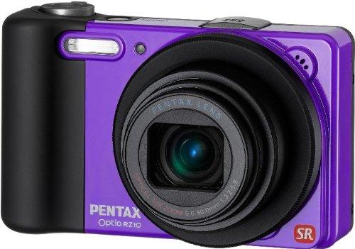 【Amazonの商品情報へ】PENTAX デジタルカメラ Optio RZ10 バイオレット  1400万画素 28mm 光学10倍 1cmマクロ デジタルカメラ OptioRZ10VIOPTIORZ10VI