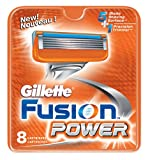 Gillette Fusion Power Replacement Cartridges, 8-Count Package