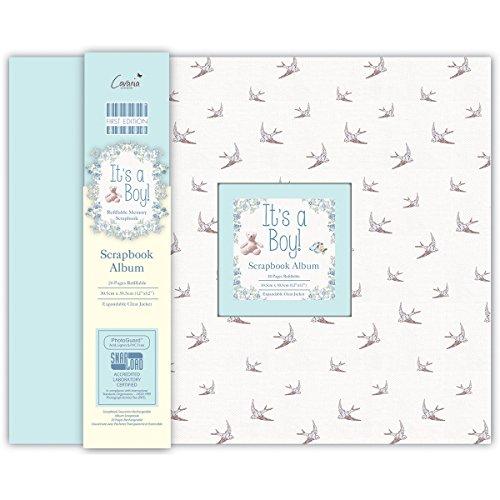 """First Edition Scrapbook-Album für Babyfotos, Aufschrift """"It's a Boy"""""""