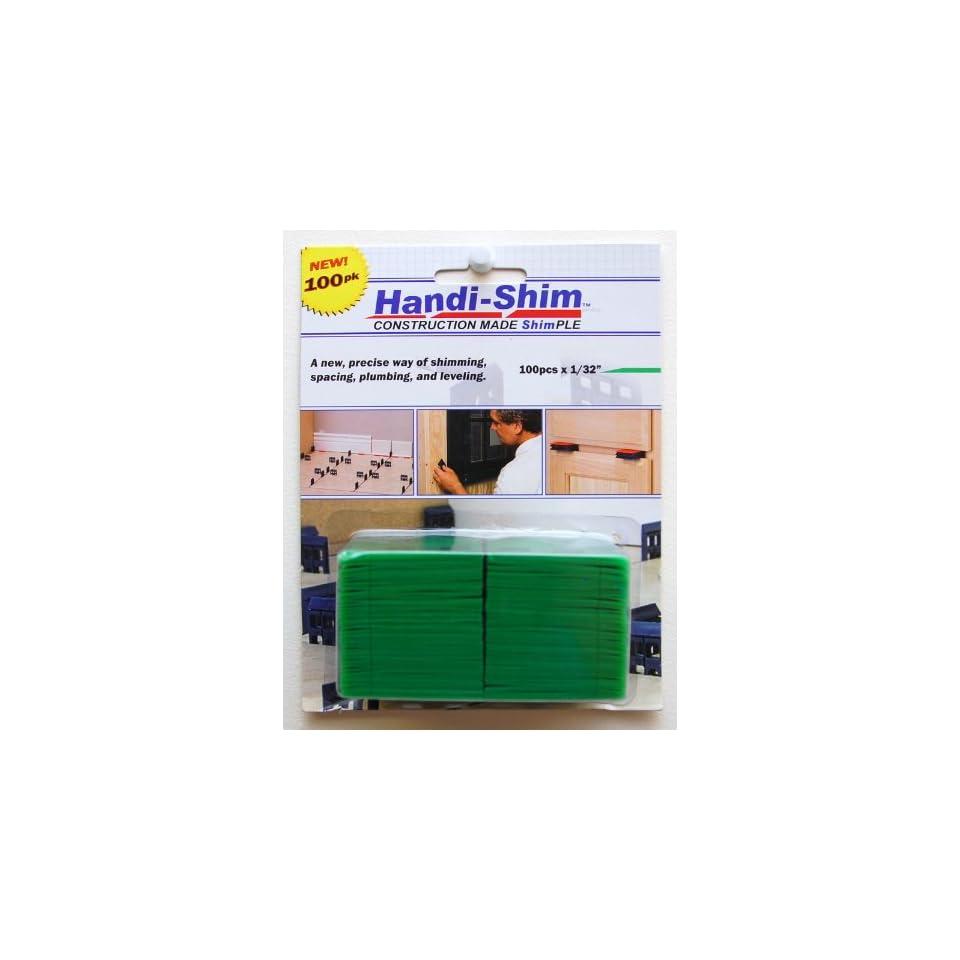 Handi Shim HS18100WH Plastic Construction Shims / Spacers