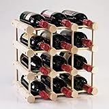 Modular 12-Bottle Wine Rack