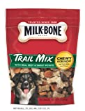 Milk-Bone Trail Mix With Real Beef & Sweet Potato Dog Snacks, 9-Ounce (Pack of 3)