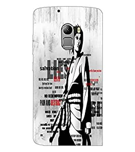 PrintDhaba Typography D-2676 Back Case Cover for LENOVO K4 NOTE A7010 (Multi-Coloured)