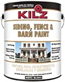 KILZ 10211 Siding Fence and Barn Paint, White