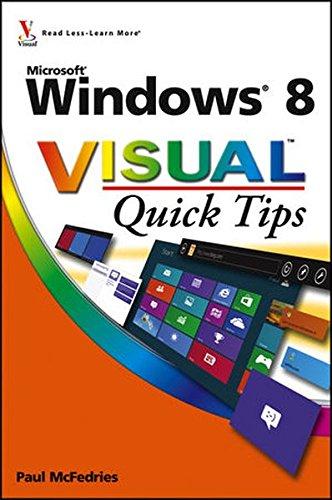 Windows 8 Visual Quick Tips (Windows 8 Visual compare prices)