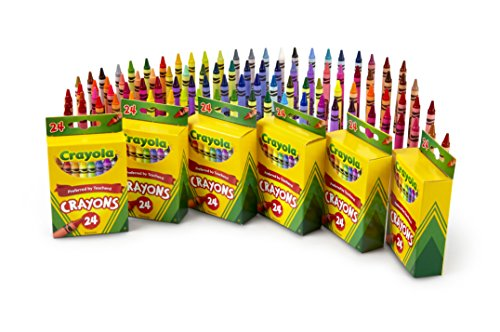Crayola 24 Count Crayons (6-Pack)