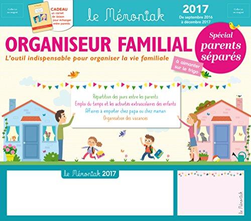 Organiseur familial Mémoniak spécial Parents séparés 2016-2017