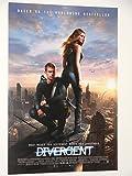 DIVERGENT - Movie Poster - Flyer - 11 x 17 - KATE WINSLET - ASHLEY JUDD - THEO JAMES - SHAILENE WOODLEY