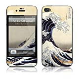 GelaSkins Protective Skin for the iPhone 4 The Great Wave with Access to Matching Digital Wallpaper Downloads