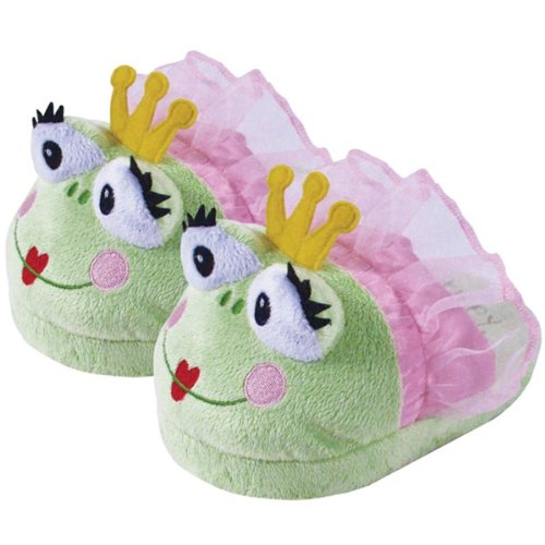 "Laid Back ""Tippy Toad"" Snuggle Slipper For Parties, Medium front-327741"