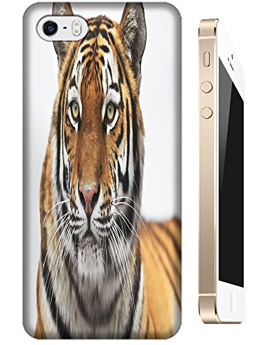 Lovely Power Tigers Cases Covers Phone Hard Back Cases Beautiful Nice Cute Animal Hot Selling Cell Phone Cases For Apple Accessories Iphone 4/4S # 10
