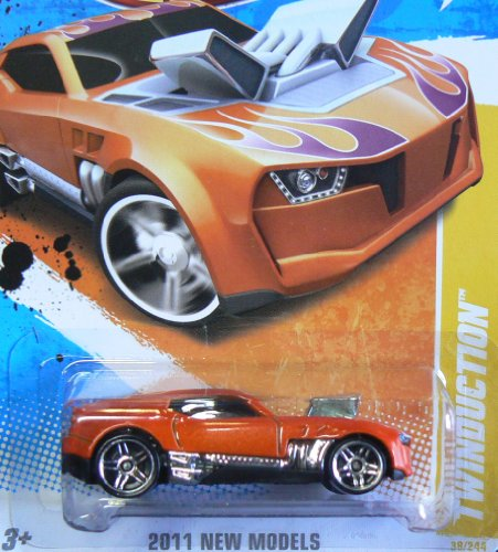 2011 Twinduction Orange Hot Wheels Collectible - 2011 New Models Series - 38/244 - 1