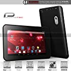 Prontotec 7 Inch Capacitive Touch Screen Tablet Pc, Dual Core 1.2 GHz, Android 4.2.2, 4GB Nand Flash, Ddr3 512MB Ram, Dual Cameras, Wi-fi, G-sensor (Black)