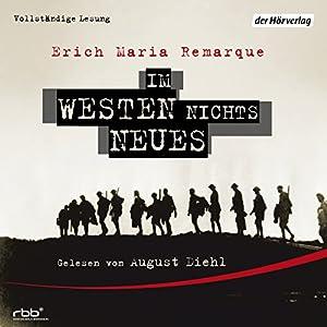 Im Westen nichts Neues Hörbuch